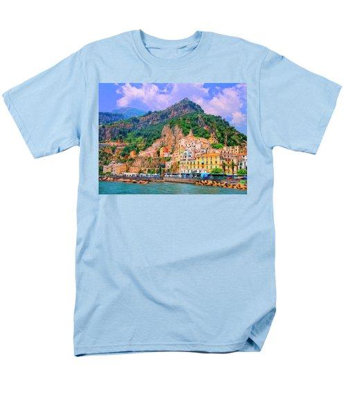 Harbor At Amalfi Men's T-Shirt  (Regular Fit) by Dominic Piperata