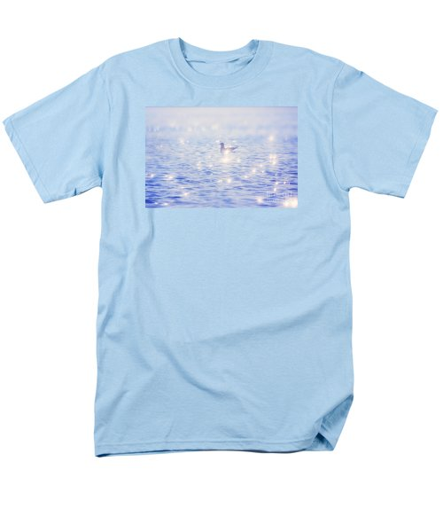 Men's T-Shirt  (Regular Fit) featuring the photograph Heaven On The Lake- Lake Mary Ronan  by Janie Johnson