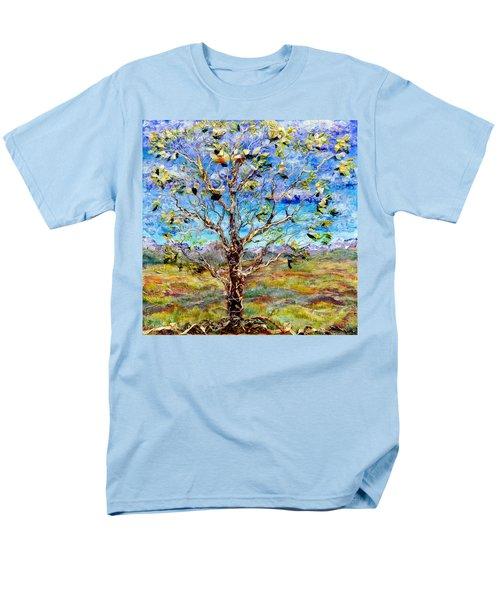 Herald Men's T-Shirt  (Regular Fit) by Regina Valluzzi