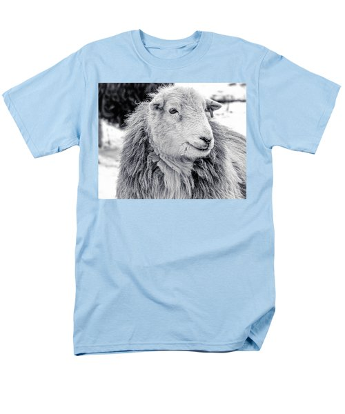 Men's T-Shirt  (Regular Fit) featuring the photograph Herdwick Sheep by Keith Elliott