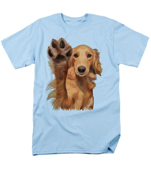 Men's T-Shirt  (Regular Fit) featuring the painting High Five by Jindra Noewi