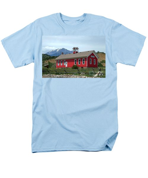 Historic Maysville School In Colorado Men's T-Shirt  (Regular Fit) by Catherine Sherman
