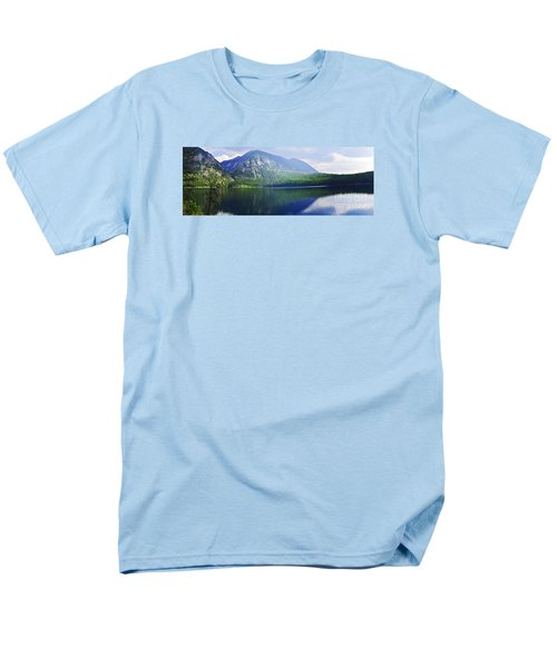 Men's T-Shirt  (Regular Fit) featuring the photograph Holland Lake Panoramic View by Janie Johnson