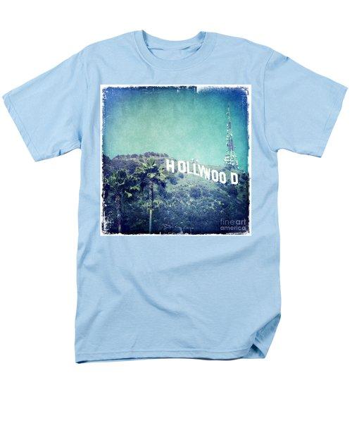 Hollywood Sign Men's T-Shirt  (Regular Fit) by Nina Prommer
