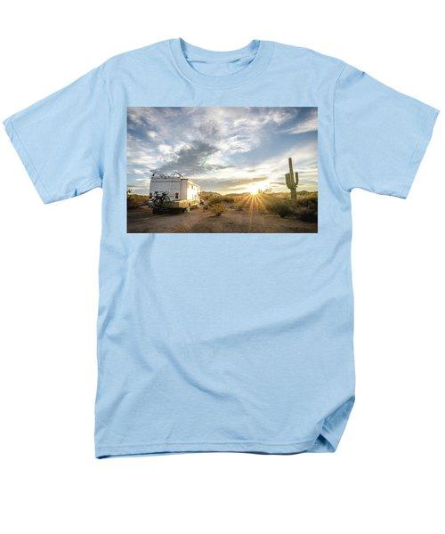 Home In The Desert Men's T-Shirt  (Regular Fit)