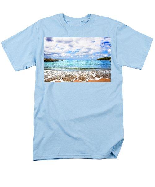 Honduras Beach Men's T-Shirt  (Regular Fit) by Marlo Horne