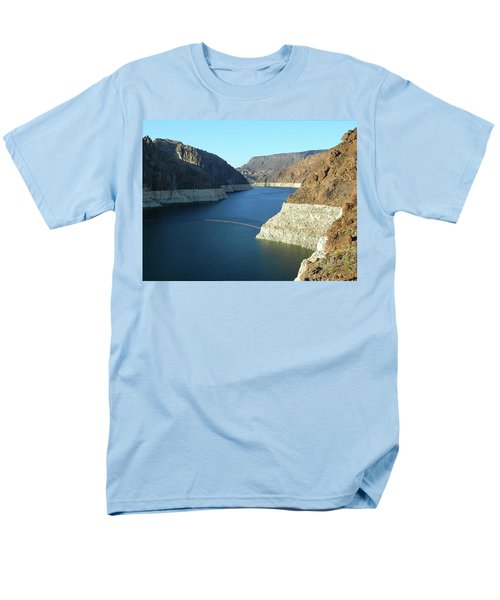 Men's T-Shirt  (Regular Fit) featuring the photograph Hoover Dam In May by Emmy Marie Vickers