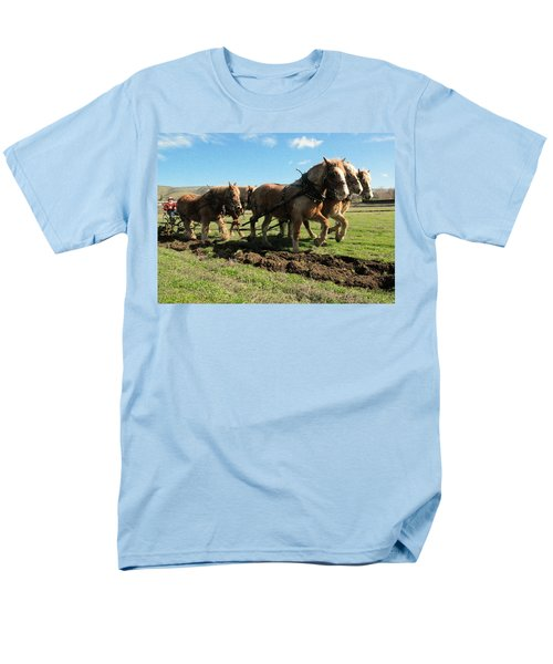 Men's T-Shirt  (Regular Fit) featuring the photograph Horse Power by Jeff Swan