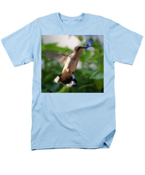 Hummingbird Men's T-Shirt  (Regular Fit) by Heidi Poulin