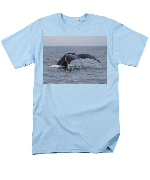 Men's T-Shirt  (Regular Fit) featuring the photograph Humpback Whale by Trace Kittrell