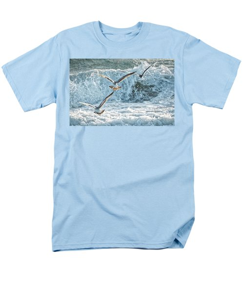 Hunting The Waves Men's T-Shirt  (Regular Fit) by Don Durfee