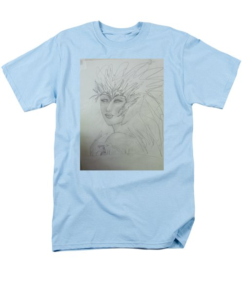 Men's T-Shirt  (Regular Fit) featuring the drawing I Am The Phoenix by Sharyn Winters