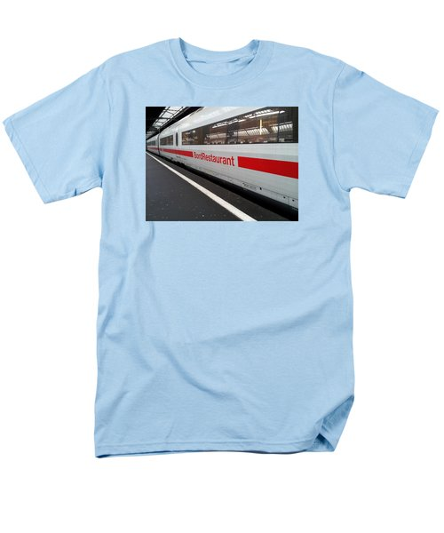Ice Bord Restaurant At Zurich Mainstation Men's T-Shirt  (Regular Fit) by Ernst Dittmar