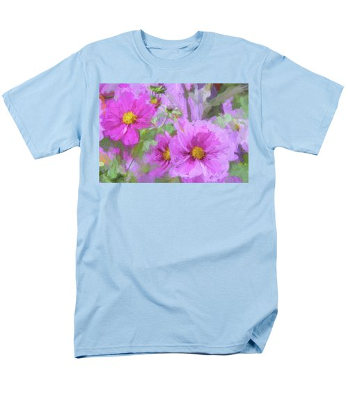 Impasto Cosmos Men's T-Shirt  (Regular Fit) by Bonnie Bruno