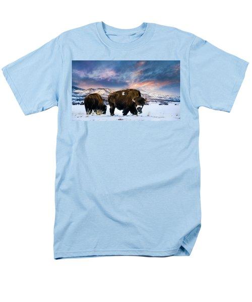 In The Grips Of Winter Men's T-Shirt  (Regular Fit)