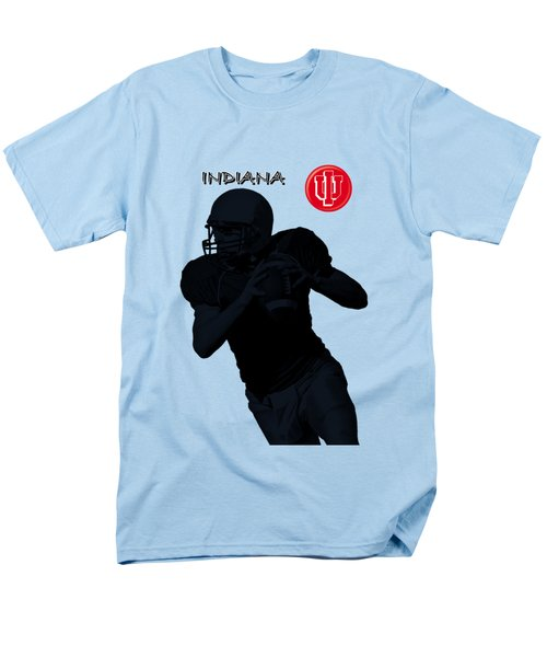Indiana Football Men's T-Shirt  (Regular Fit) by David Dehner
