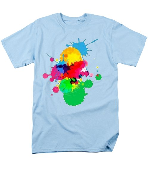 Inkblots T-shirt Men's T-Shirt  (Regular Fit) by Herb Strobino
