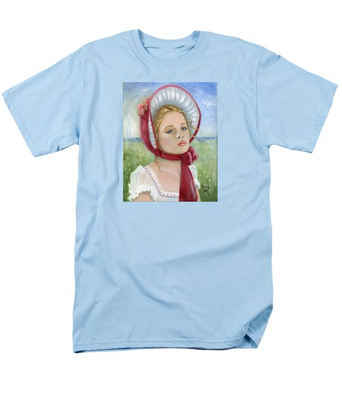 Men's T-Shirt  (Regular Fit) featuring the painting Innocence by Terry Webb Harshman
