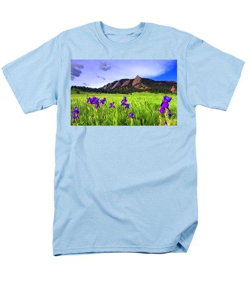 Iris And Flatirons Men's T-Shirt  (Regular Fit) by Scott Mahon