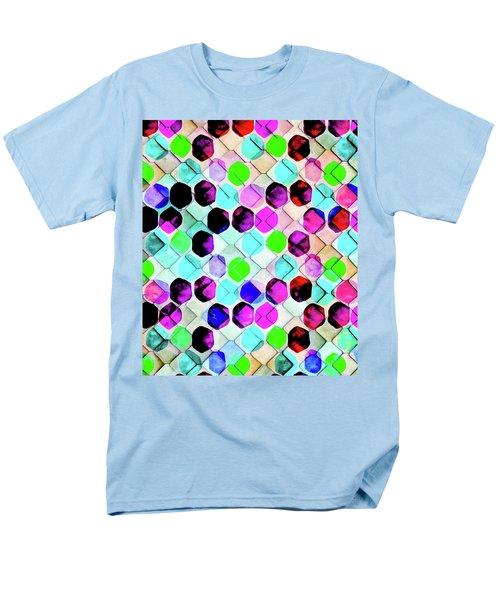 Irregular Hexagon Men's T-Shirt  (Regular Fit) by Uma Gokhale