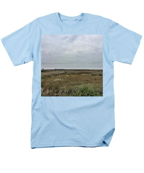 It's A Grey Day In North Norfolk Today Men's T-Shirt  (Regular Fit) by John Edwards