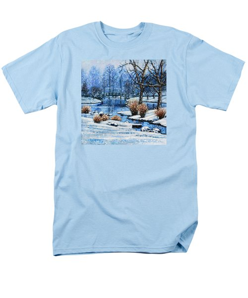 Japanese Winter Men's T-Shirt  (Regular Fit) by John Lautermilch