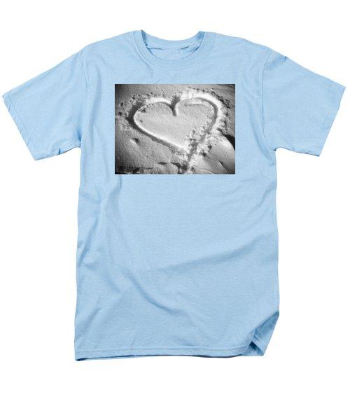 Winter Heart Men's T-Shirt  (Regular Fit) by Juergen Weiss