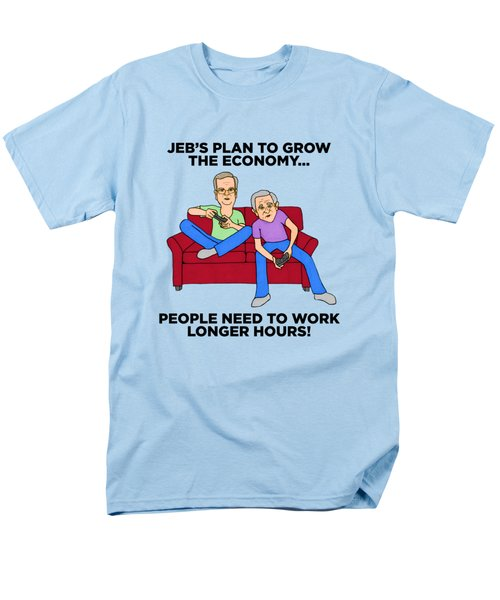 Jeb Bush Men's T-Shirt  (Regular Fit) by Sean Corcoran