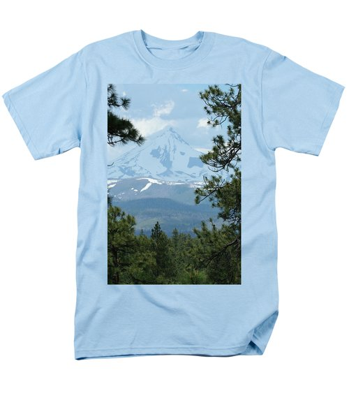 Men's T-Shirt  (Regular Fit) featuring the photograph Jefferson Pines by Laddie Halupa