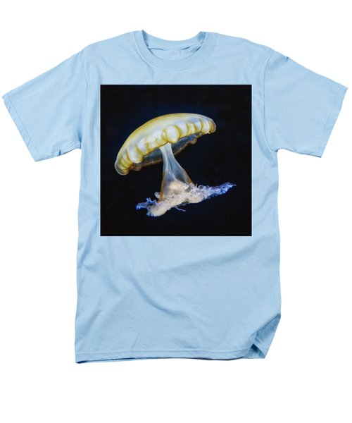 Men's T-Shirt  (Regular Fit) featuring the photograph Jellyfish No. 1 by Alan Toepfer