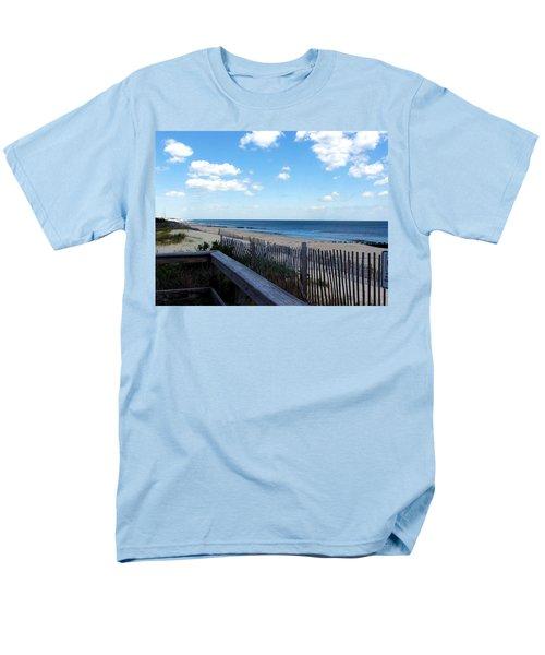 Jersey Shore Men's T-Shirt  (Regular Fit) by Judi Saunders
