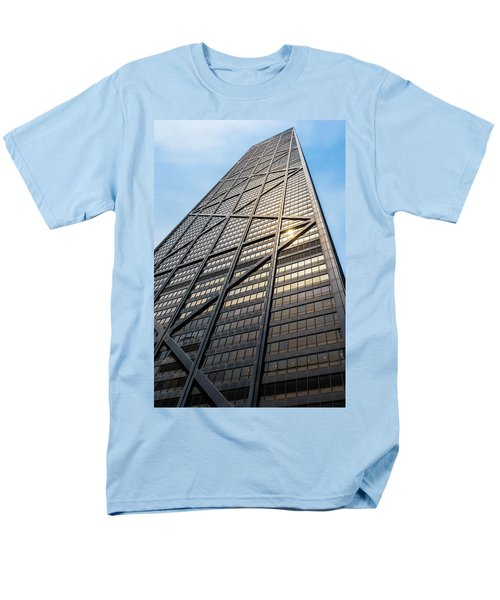 John Hancock Center Chicago Men's T-Shirt  (Regular Fit) by Steve Gadomski