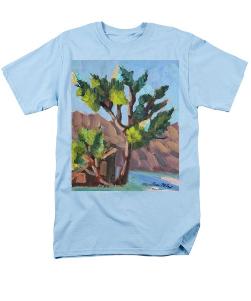 Men's T-Shirt  (Regular Fit) featuring the painting Joshua At Keys Ranch by Diane McClary