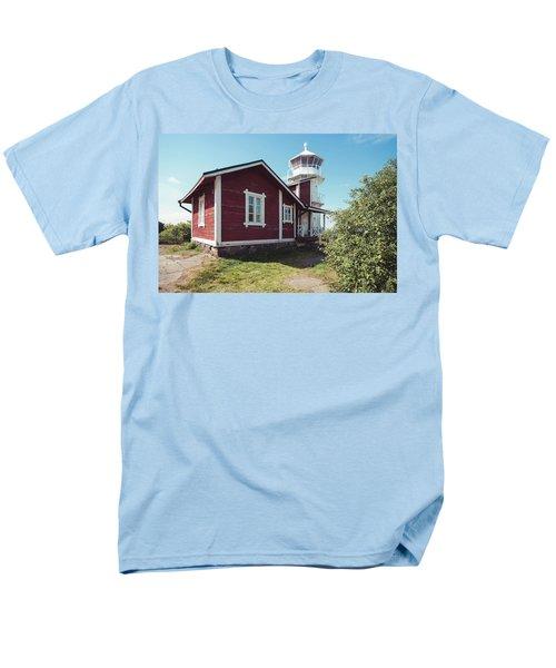 Men's T-Shirt  (Regular Fit) featuring the photograph Kallo Lighthouse by Ari Salmela