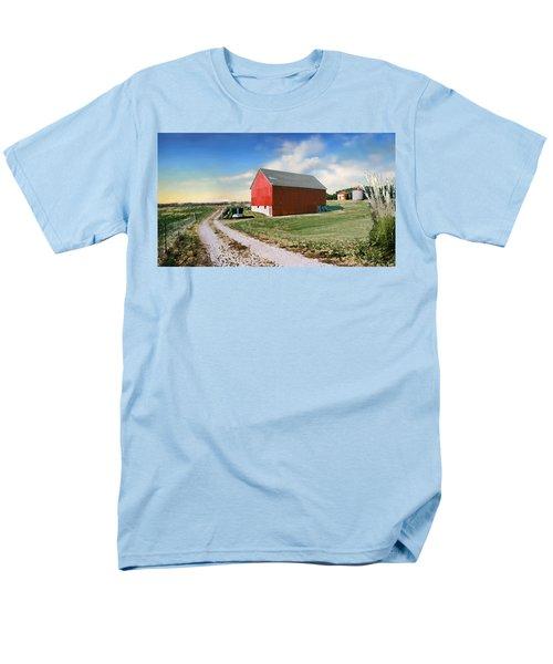 Kansas Landscape II Men's T-Shirt  (Regular Fit)