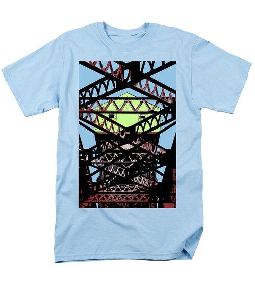 Katy Trail Bridge Men's T-Shirt  (Regular Fit) by Christopher McKenzie