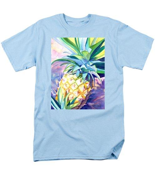 Kauai Pineapple 3 Men's T-Shirt  (Regular Fit) by Marionette Taboniar