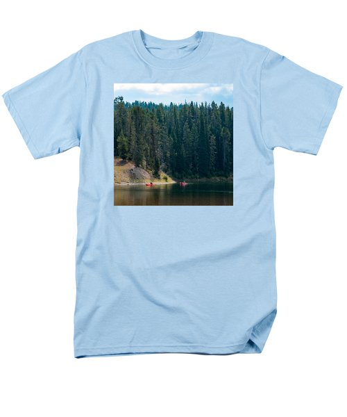 Men's T-Shirt  (Regular Fit) featuring the photograph Kayakers by Cathy Donohoue