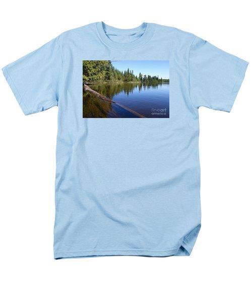 Men's T-Shirt  (Regular Fit) featuring the photograph Kayaking Serenity by Sandra Updyke