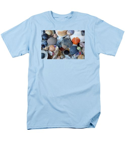 Men's T-Shirt  (Regular Fit) featuring the photograph Kayla's Shells by John Schneider