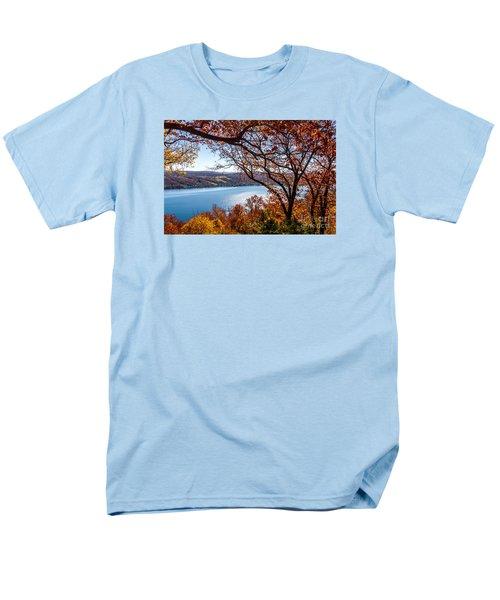 Keuka Lake Vista Men's T-Shirt  (Regular Fit) by William Norton