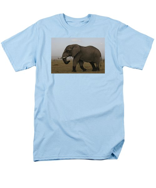 Men's T-Shirt  (Regular Fit) featuring the photograph King Of The Savannah by Gary Hall