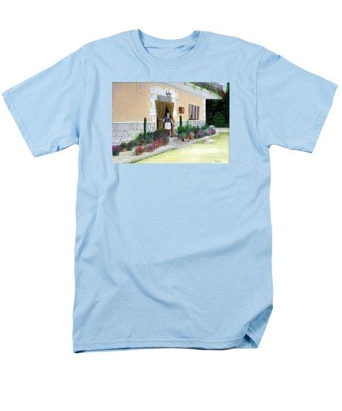 La Casa De Nonna Loreta Men's T-Shirt  (Regular Fit) by Albert Puskaric