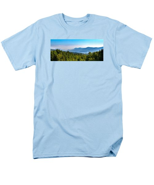 Lake George, Ny And The Adirondack Mountains Men's T-Shirt  (Regular Fit) by Brian Caldwell