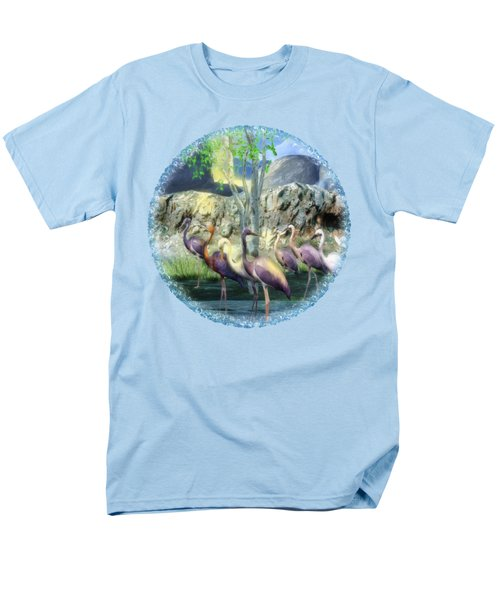 Lakeside View Men's T-Shirt  (Regular Fit) by Sharon and Renee Lozen