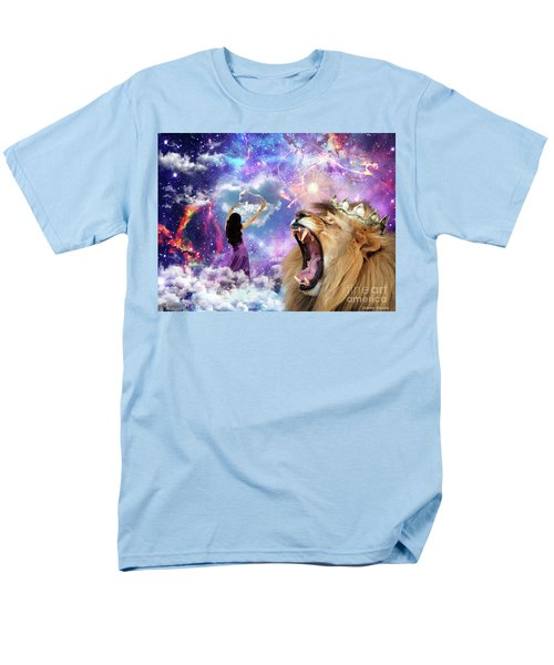 Men's T-Shirt  (Regular Fit) featuring the digital art Lamb Of God by Dolores Develde