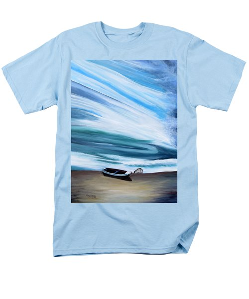 Land Meets Sky Men's T-Shirt  (Regular Fit) by Marilyn  McNish