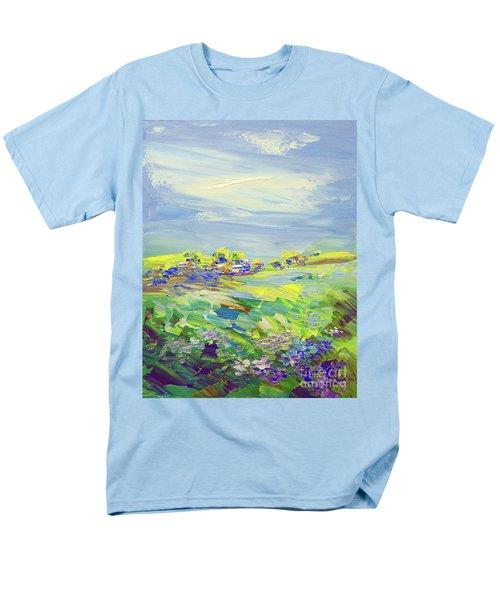 Land Of Milk And Honey Men's T-Shirt  (Regular Fit) by Tatiana Iliina