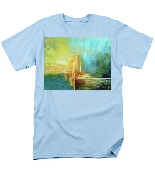 Men's T-Shirt  (Regular Fit) featuring the painting Land Of Oz by Tatiana Iliina