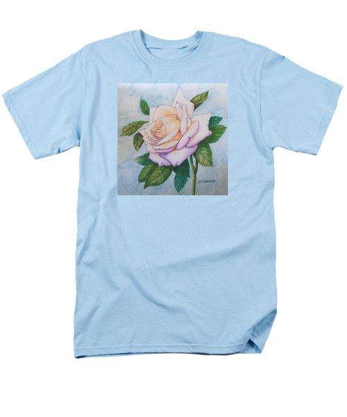 Lavender Rose Men's T-Shirt  (Regular Fit) by Marna Edwards Flavell